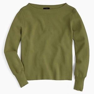 JCrew Subtle Boat Neck Sweater